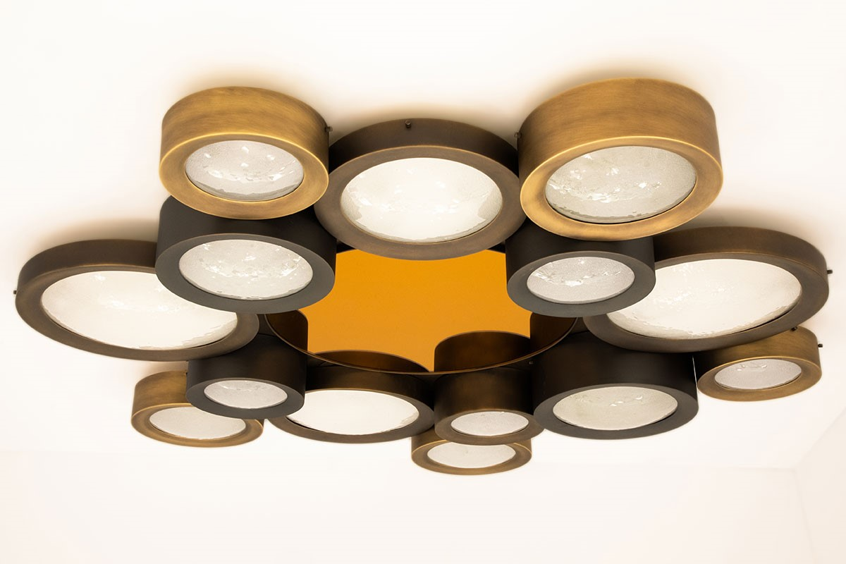 Helios Ceiling Light by form A