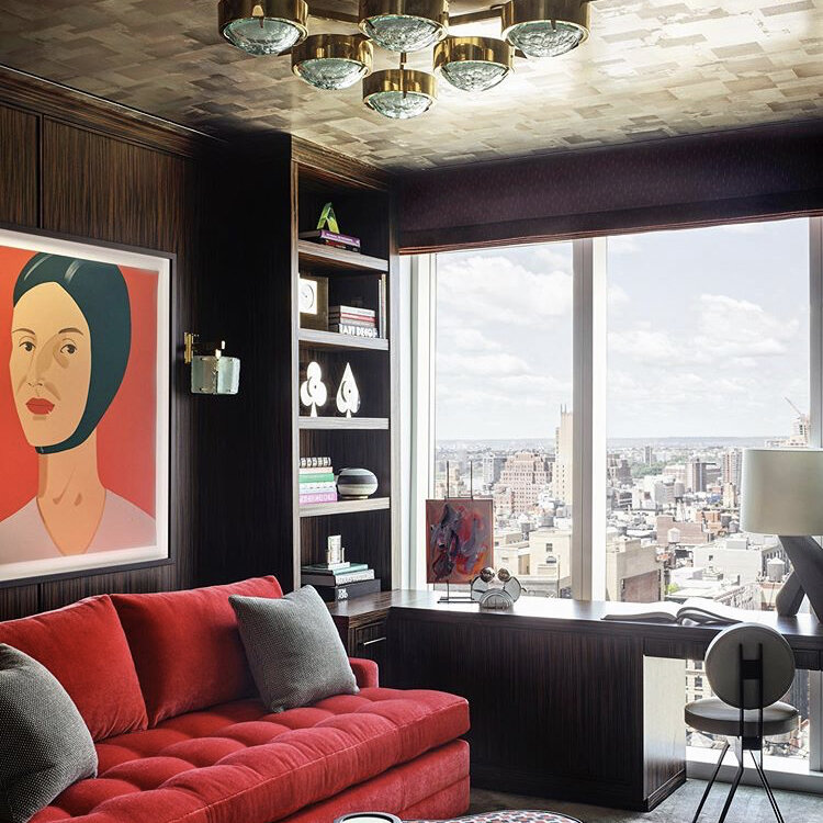 Stella Ceiling Light in a NYC Apartment