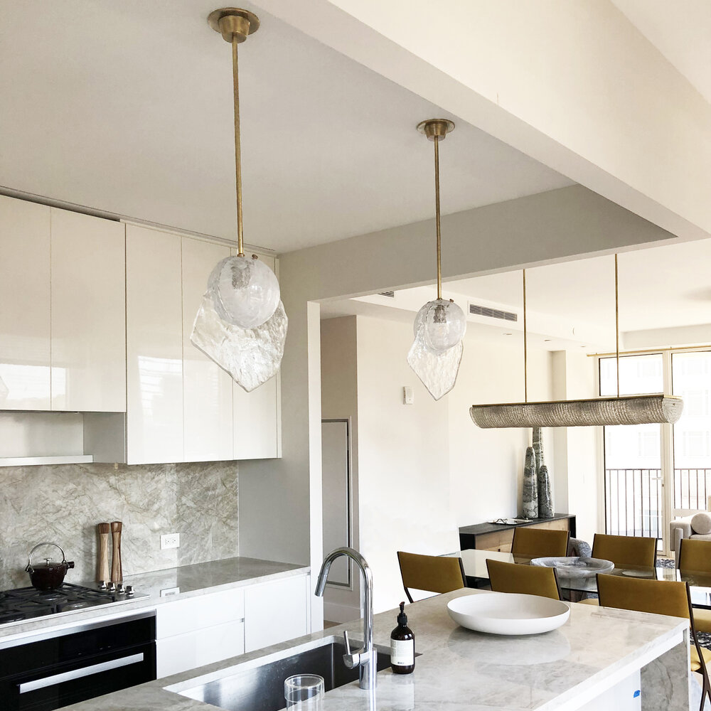 Brezza Pendant Lights in an Apartment